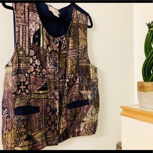 2/$20 // APRIL CORNELL Vtg Funky Vest